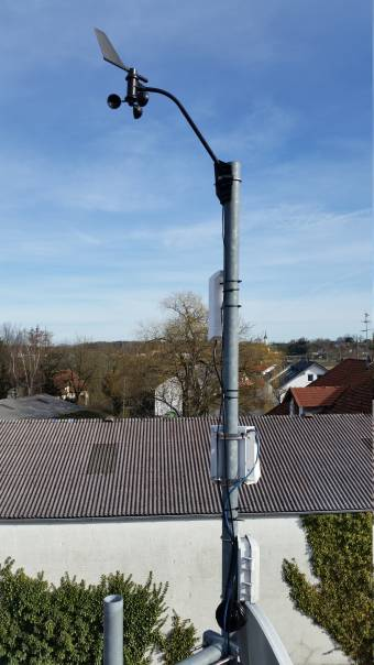 Bild: TP-Link CPE210 Outdoor WLAN Access Point